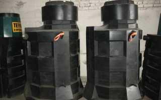 Пластиковые кессоны для скважин: качества, сравнение материала, монтаж